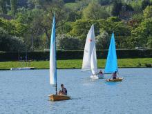 Sailing at Otley Show