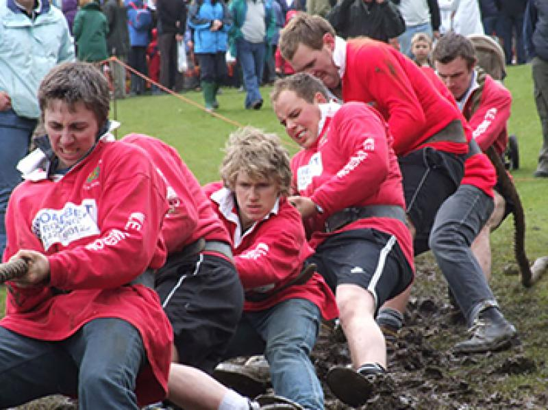 Young Farmers Tug of War Team