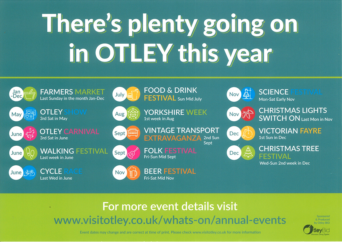 Annual Events in Otley